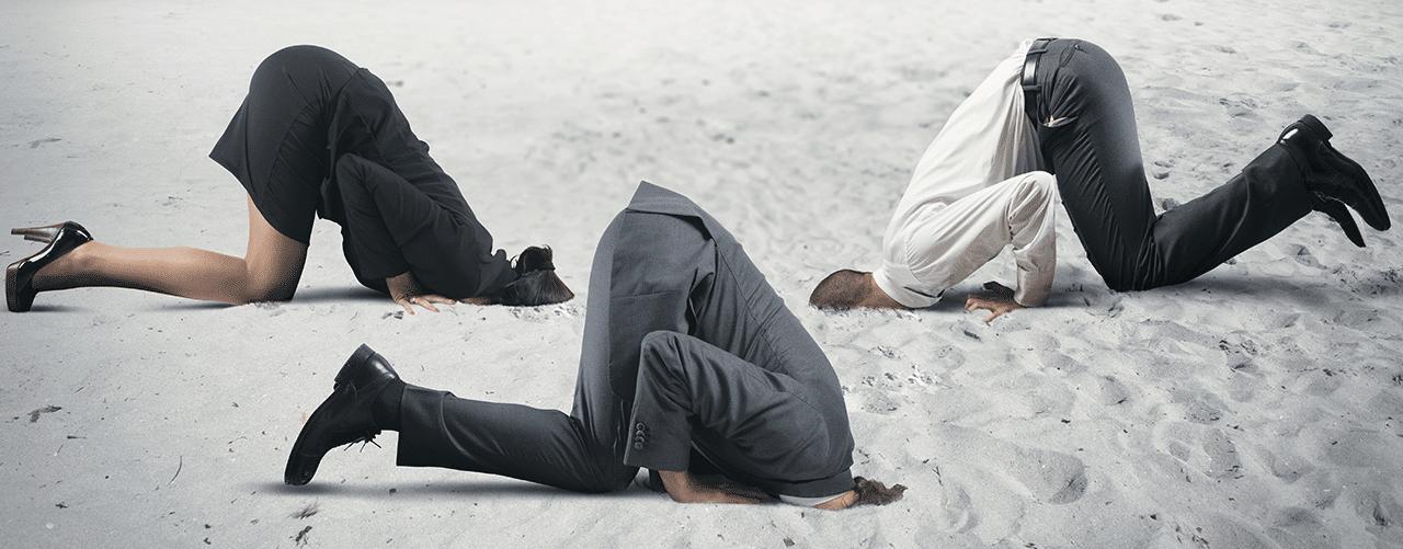 La FCIQ : La tête dans le sable